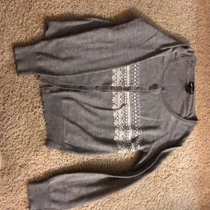 Wet Seal Button-Up Sweater/Cardigan